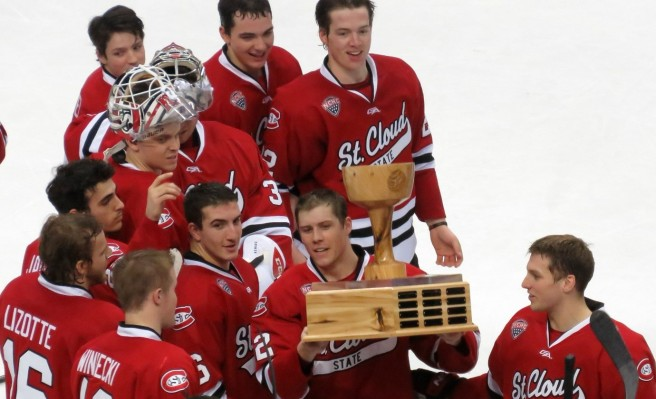SCSU captured the 2016 North Star College Cup (Photo Prout)