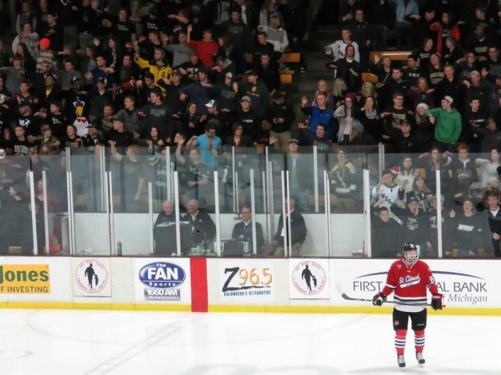 Western Michigan s Lawson Lunatics are one of the top fan bases in college  hockey (Photo Prout) 54e0f7801